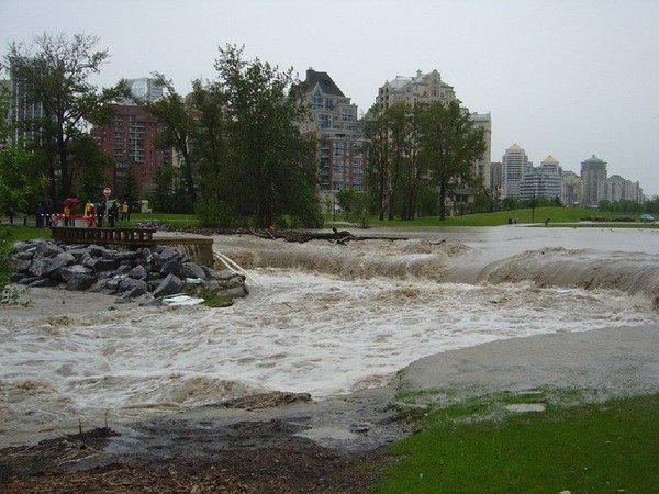 Flooding in Calgary 2005