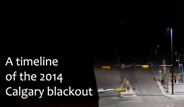 Calgary Blackout 2014