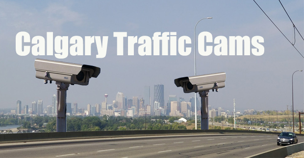 Traffic Cams in Calgary – On a Single Page!