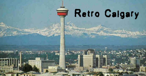 Retro Calgary, old timey and lovely.
