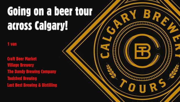 Calgary Brewery Tours, A Review.