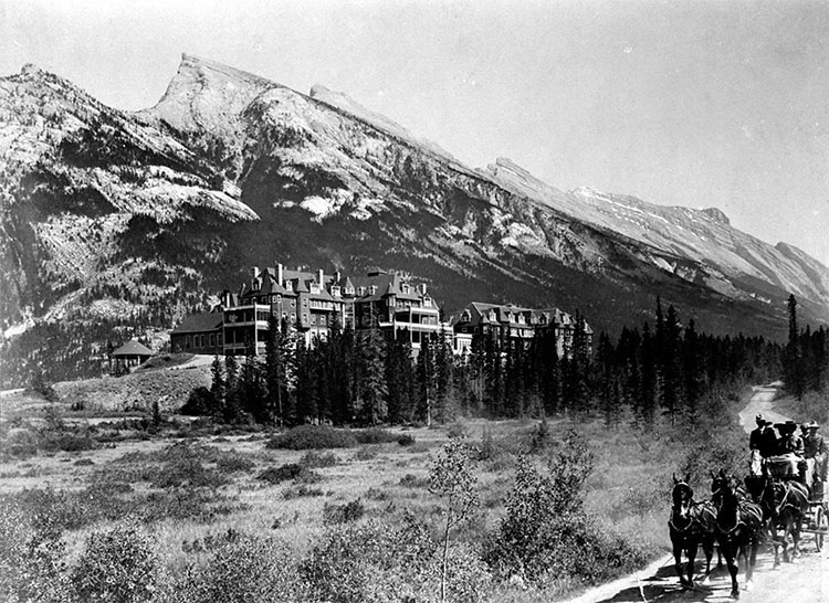 Fairmont Banff Springs Hotel Haunted burned down fire