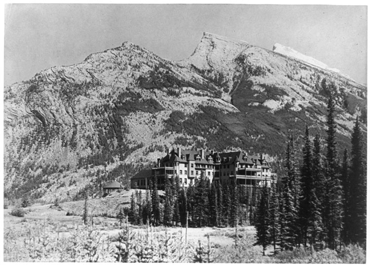 Fairmont Banff Springs Hotel Haunted first