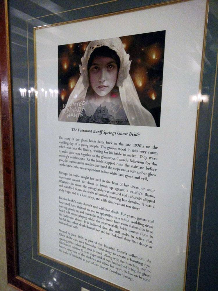 Fairmont Banff Springs Hotel Haunted corpse bride