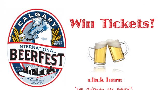 Beer alert!! Calgary Beer Fest Giveaway
