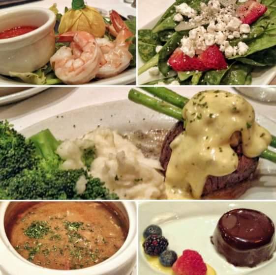 Where to eat in Calgary: Ruth's Chris
