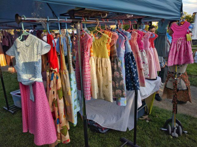 Calgary Night Market Clothing tent 3