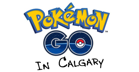 PokemonGO Calgary! It's here! Sort of!