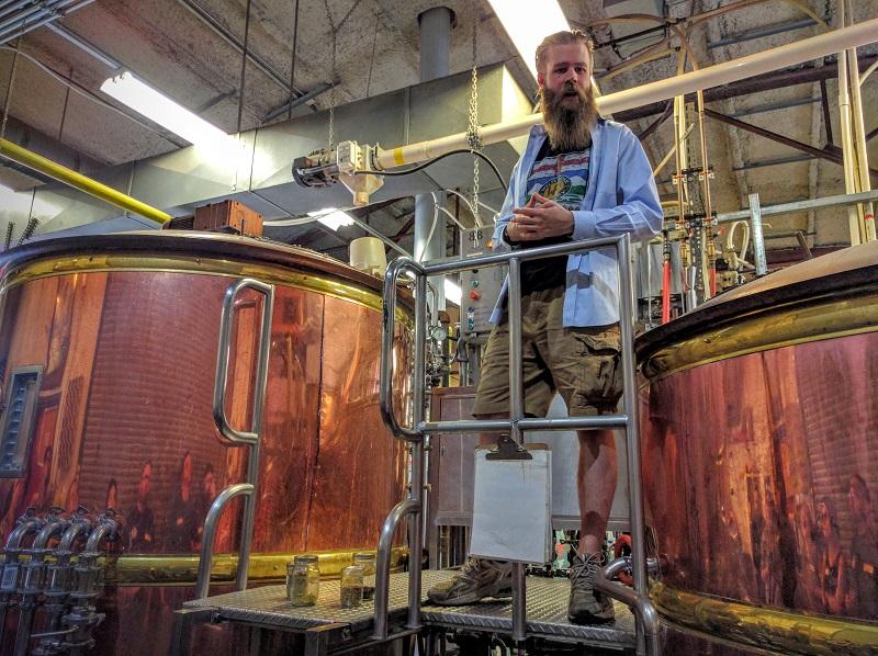 touring Calgary breweries