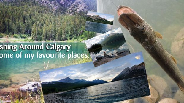 Fishing around Calgary and Southern Alberta