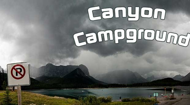 Camping and Shooting The Stars at Canyon Campground