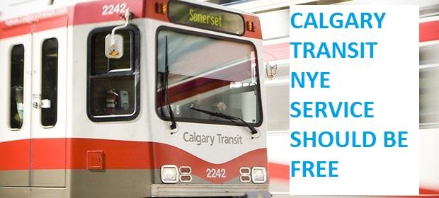 Calgary Transit NYE