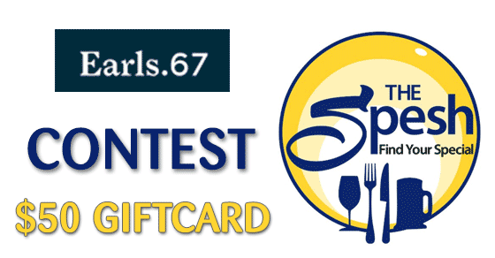 Win an Earls67 gift card from The Spesh