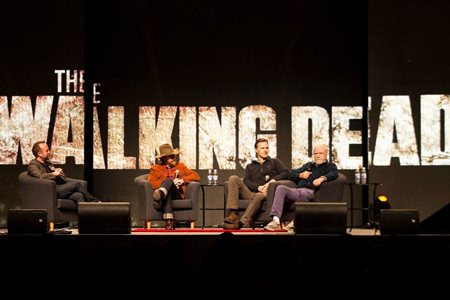 Calgary Expo 2017 The Walking Dead Govenor Hershel