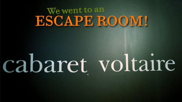 Prepare To Be A/Mazed by Cabaret Voltaire Escape Room.