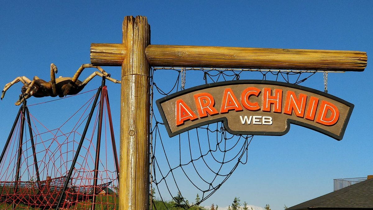 Granary Road Arachnid Web