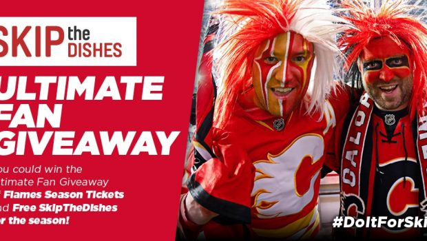 Win Calgary Flames Season Tickets & Free Skip!