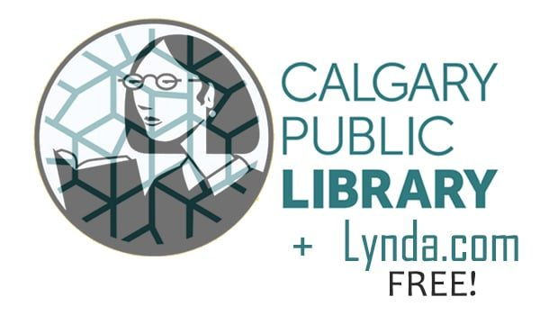 Get free Lynda.com access with a Calgary Public Library card