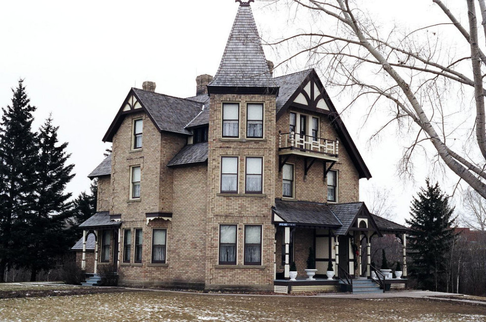Haunted place in Calgary Prince House