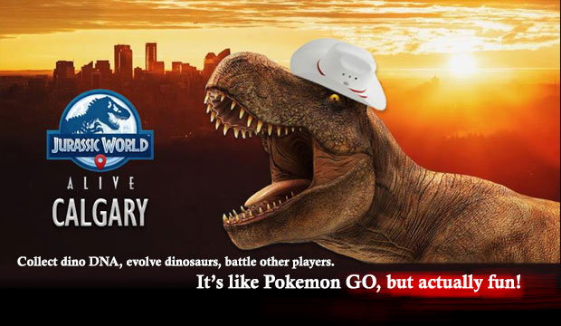 Jurassic World Alive Calgary – for Android and iOS