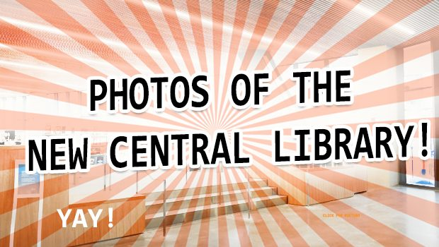 Checking Out The New Central Library! 29 Photos