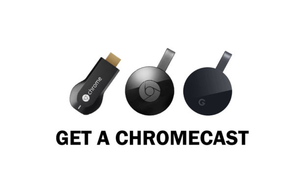 If you don't already have one, you should get a Chromecast