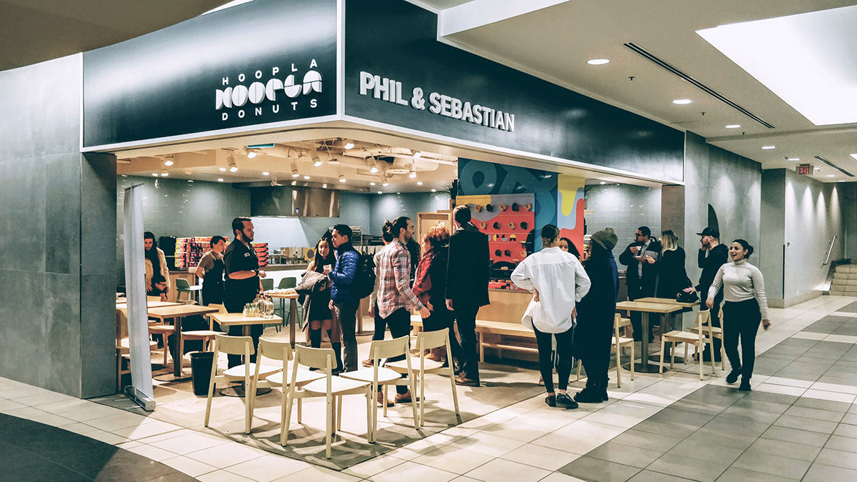 Hoopla Donuts location