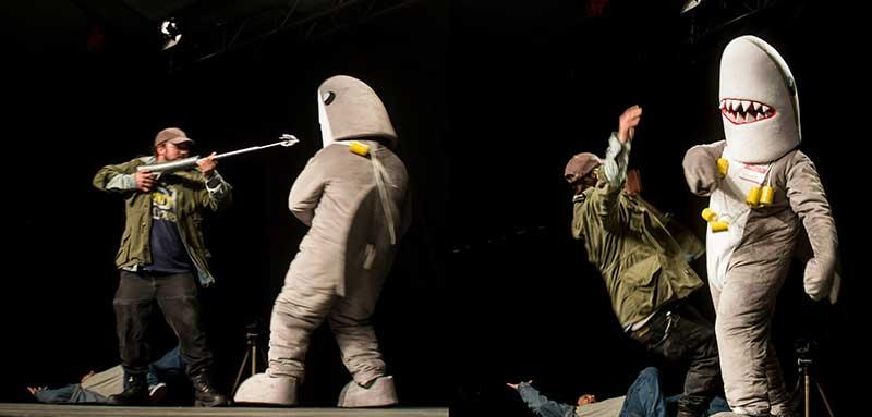 Calgary Comic Con Shark Costume Contest Jaws
