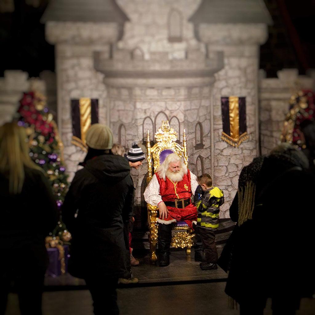 Calgary Zoo ZOOLIGHTS Santa Claus