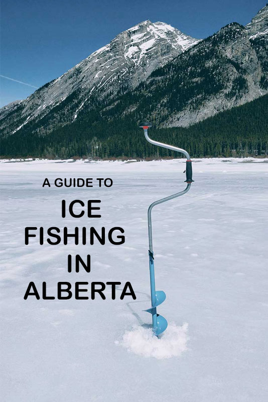 Ice Fishing in Alberta Guide Pinterest