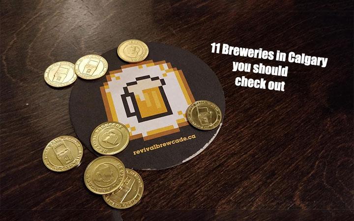 Breweries in Calgary