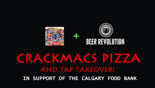 Crackmacs Pizza and Tap Takeover at Beer Revolution