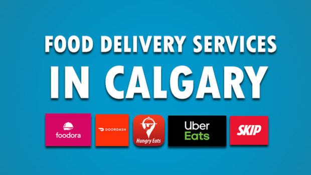 A List of Food Delivery Services in Calgary