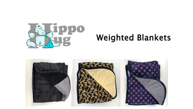 My Weighted Blanket from Hippo Hug