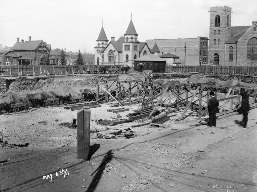 Historical Calgary Stephen Ave Hudsons Bay
