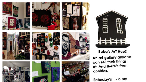 Baba's ArT HauS: one of the most unique art galleries in Calgary