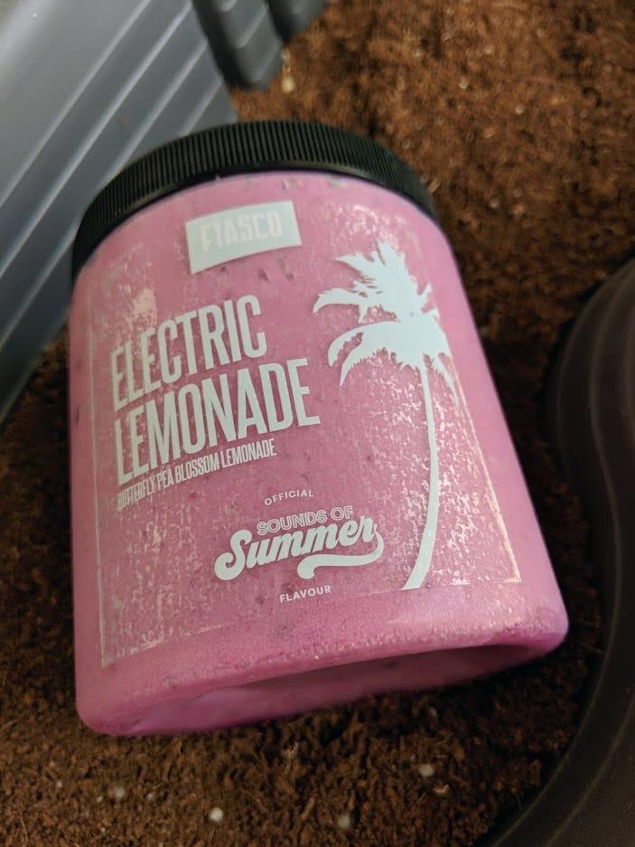Fiasco Gelato Electric Lemonade