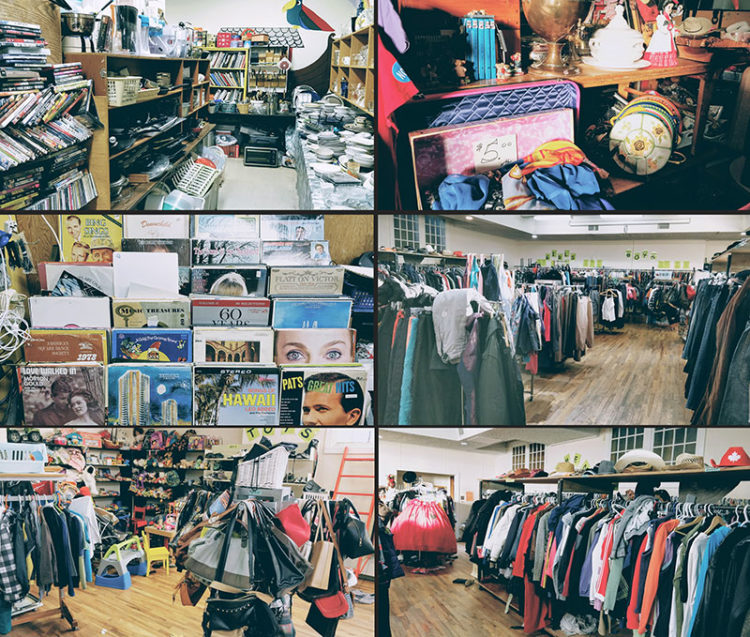Banff Without A Car Thrift Store