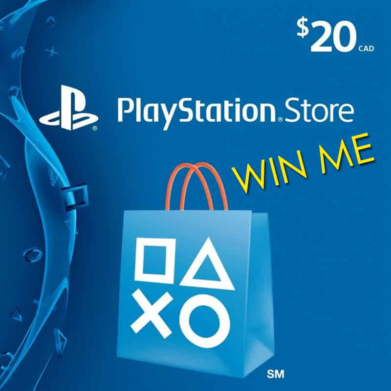 Win PS4 Gift Card
