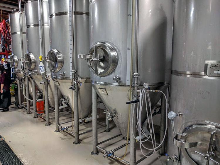 Banded Peak Brewing Stills