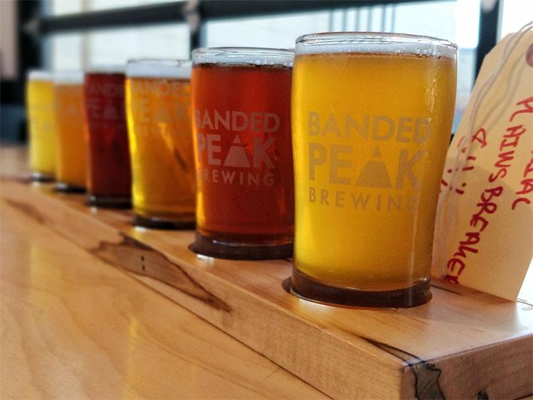 Banded Peak Brewing Beers