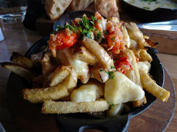 happy hours in Calgary Briggs Kitchen Newf's Poutine