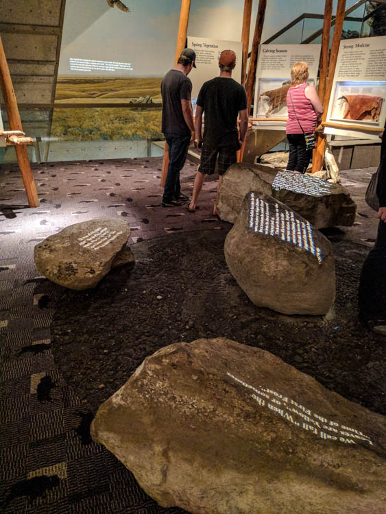 Head-Smashed-In Buffalo Jump Passages