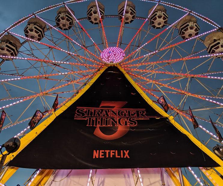 Stranger Things Calgary Stampede Ferris Wheel 3 Netflix