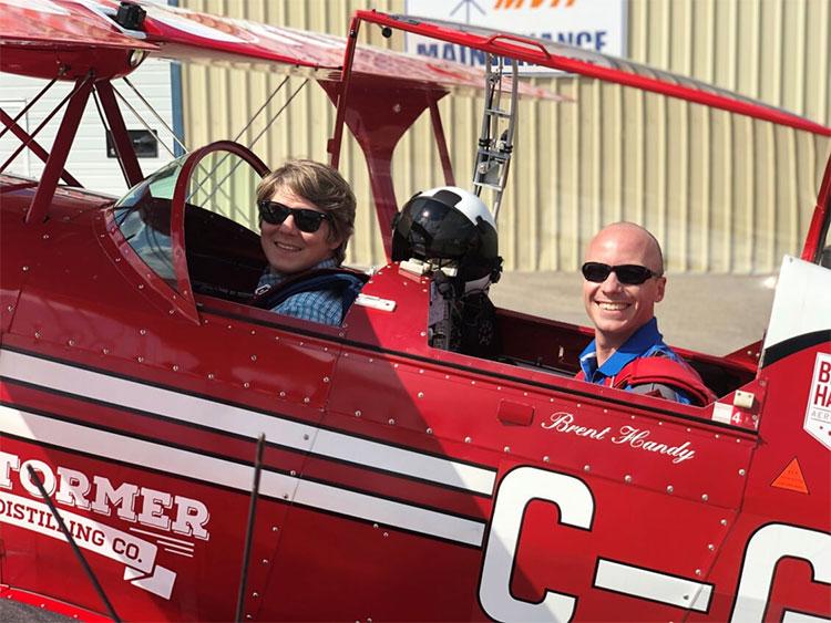 Wings Over Springbank Airshow Brent Handy Ryan Hoult