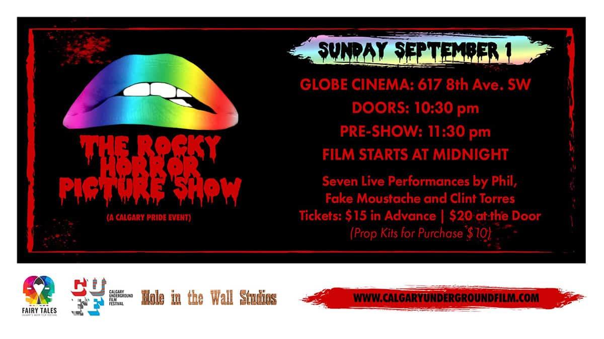Calgary Pride Events List 2019 Rocky Horror