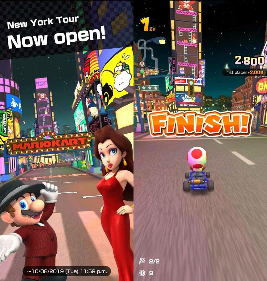 Mario Kart Tour New York City