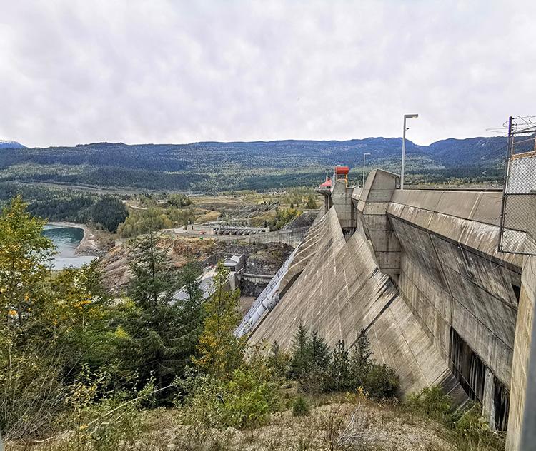 LUNA Art Festival Revelstoke Dam