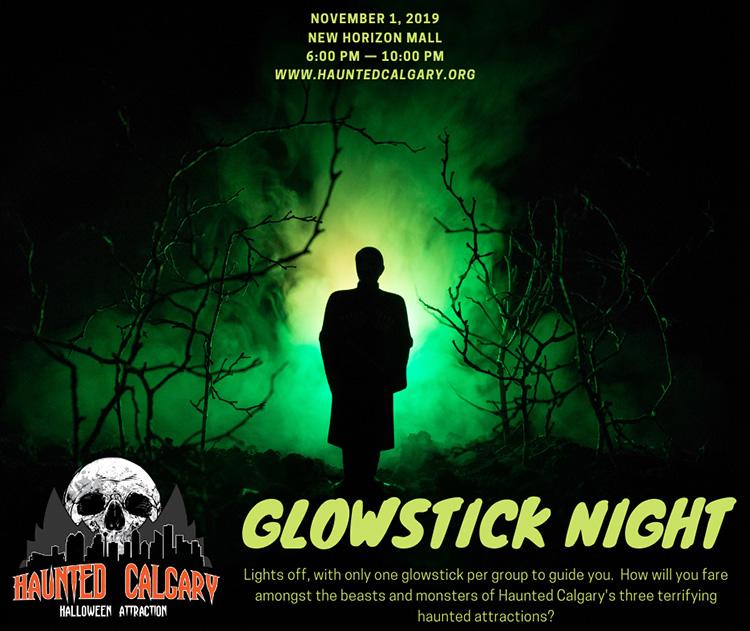 Glowstick night New Horizons Mall