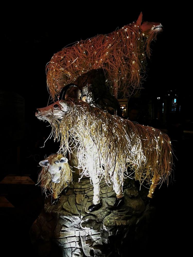 LUNA Art Festival Goats